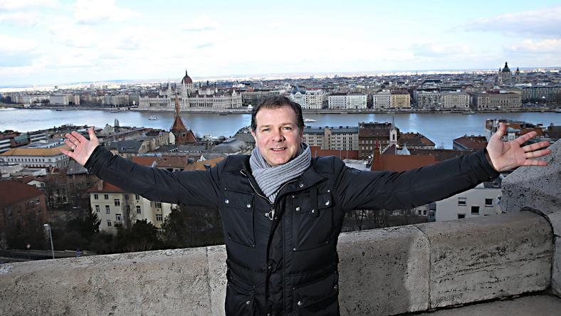 Möller szerint gyönyörű a magyar főváros, a Vár és a Halászbástya a kedvenc helye /Fotó: Bild_de
