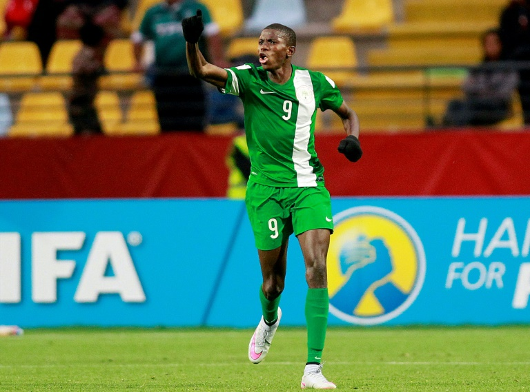 Osimhen scored 10 goals to help Nigeria to the title at the 2015 FIFA World Cup