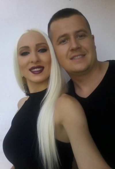 Emma Lapin i Marko Perović