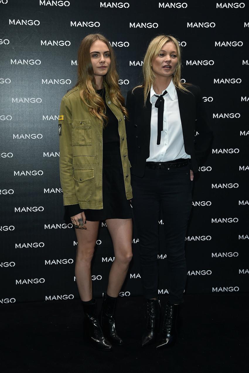 Cara Delevingne: Kate Moss zbierała mnie z podłogi