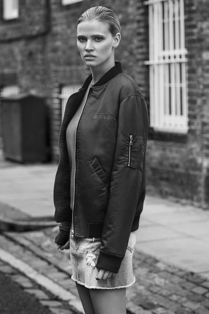 Lara Stone x Frame