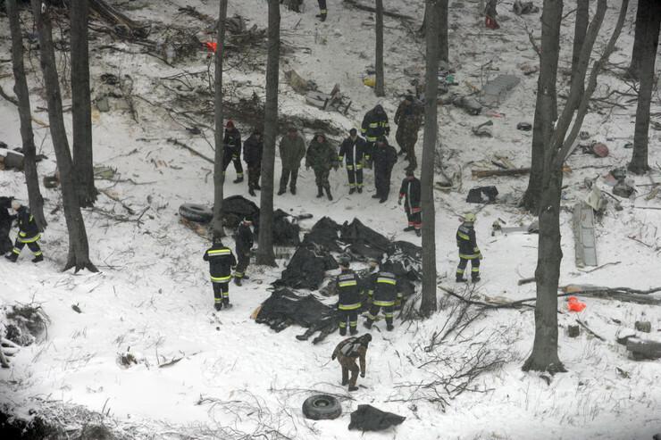 Egyetlen túlélőt találtak / Fotó: RAS-archív