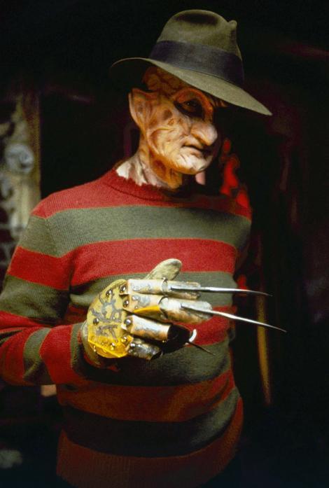 "Fredi Kruger, zlikovac iz filma ""Strah u Ulici brestova"""