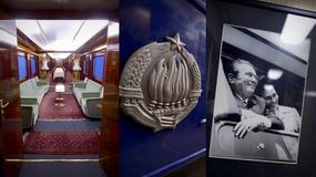 """Luksusowy """"Niebieski pociąg"""" Josipa Broz Tito, przywódcy byłej Jugosławii"""