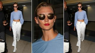 Best Look: Karlie Kloss w bluzce Rosie Assoulin