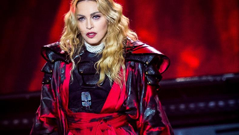 Madonna a koncertjén borult ki /Fotó: Northfoto