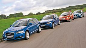 Audi A3 kontra BMW1, Honda Civic i Volvo C30 czyli porównanie ekskluzywny kompakty