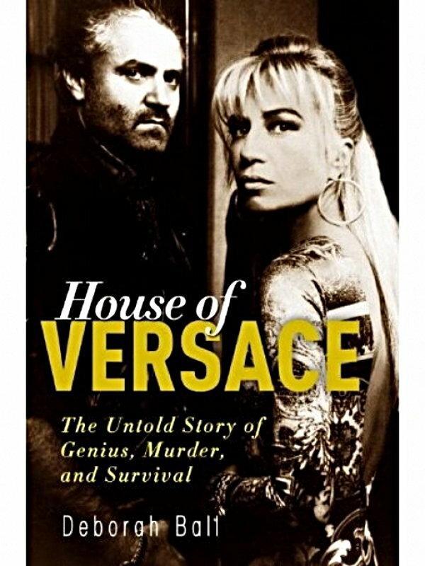 okładka książki House of Versace