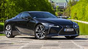 Lexus LC 500 - idealne połączenie emocji i wygody