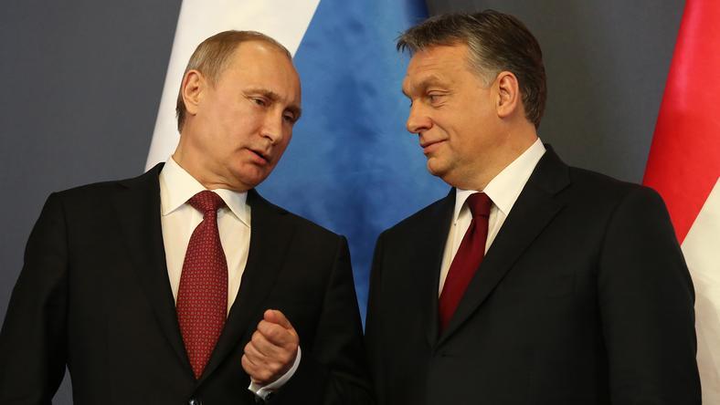 Putyin tavaly Magyarországon is járt és Orbán Viktor miniszterelnökkel tárgyalt/Fotó: Fuszek Gábor