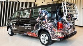 VW Caravelle i California dla kolarzy górskich