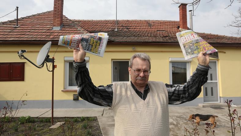 Lászlónak végre nem kell tovább spórolnia, meglesz a pénz a tetőre /Fotó: Gy. Balázs Béla