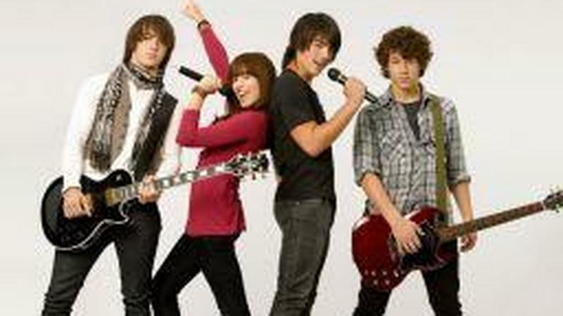 """Bracia Jonas w filmie """"Camp Rock"""""""