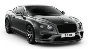 Bentley Continental SuperSports, czyli szybkość dla czterech osób