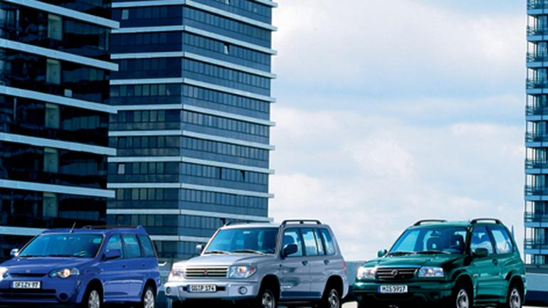 Honda HR-V, Pajero Pinin i Suzuki Grand Vitara - Małe i tanie 4x4