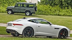Garaż marzeń: Jaguar F-Type i Land Rover Defender - Brytyjscy łamacze serc