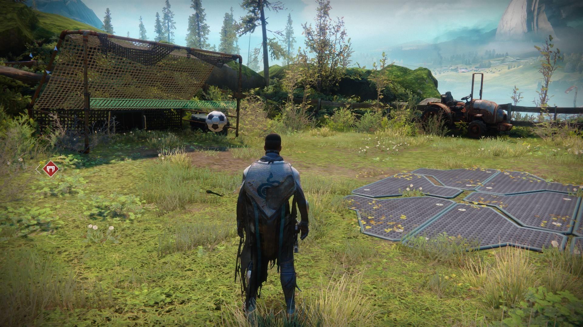 Na farme, sociálnom priestore Destiny 2