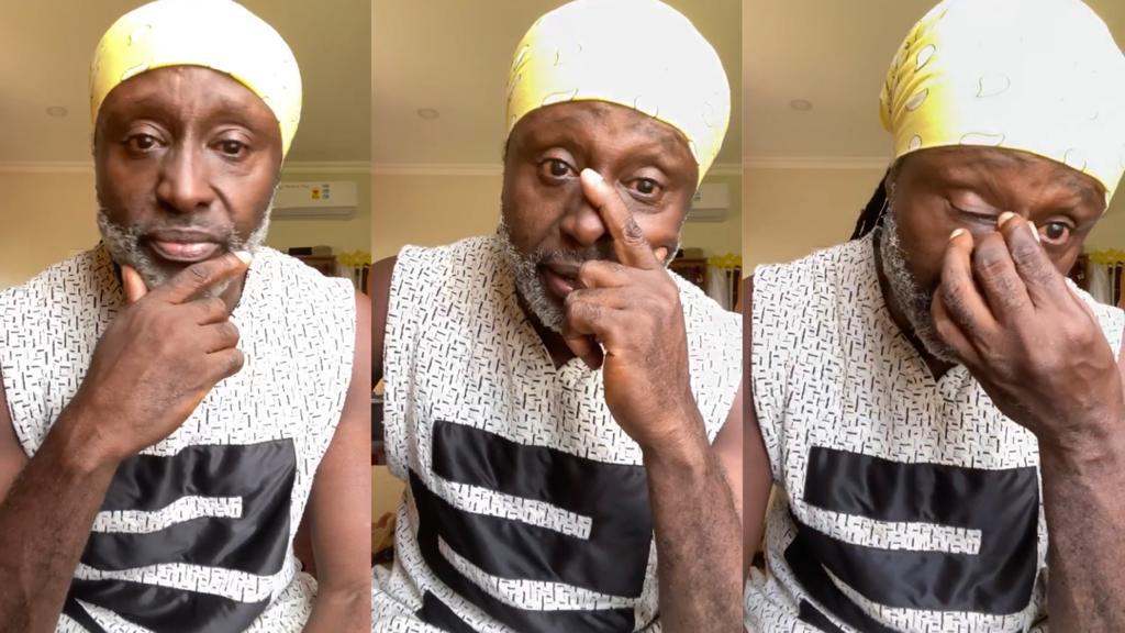 Reggie Rockstone in tears over Akuapem Poloo's 90 days sentence over nude photo | Latest Ghanaian Celebrity News & Hot Gossip