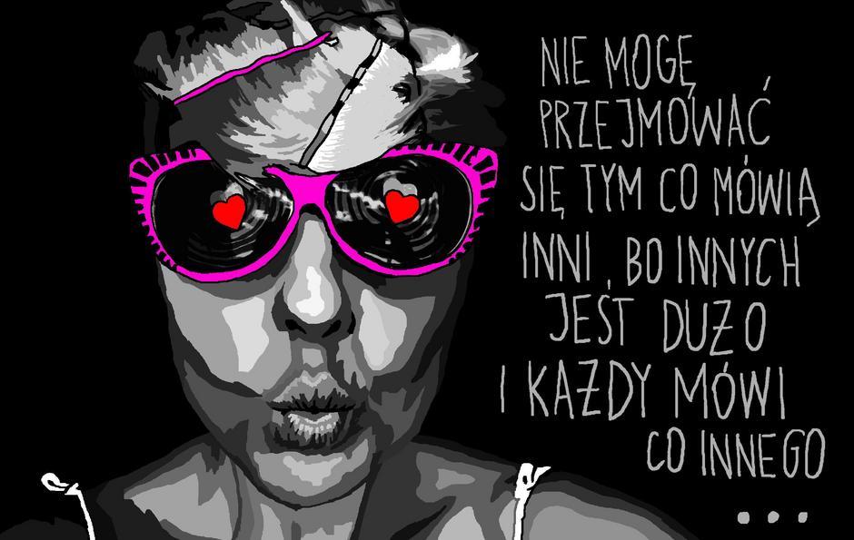 Marta Frej dla VU MAG / Marta Frej