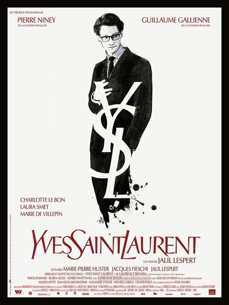 Plakat do filmu Yves Saint Laurent / materiały prasowe