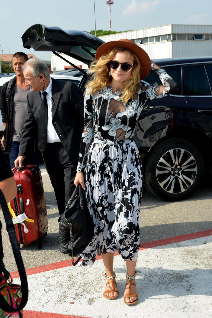 Diane Kruger w sukience Thakoon