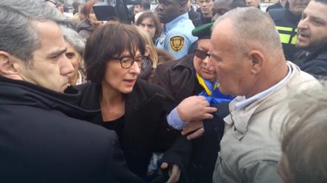 Hapšenje Florens Artman u Hagu