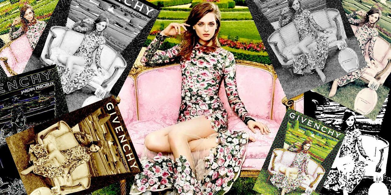Daga Ziober dla Givenchy / East News / VU MAG
