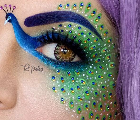 Niesamowity makijaż stworzony przez Tal Peleg