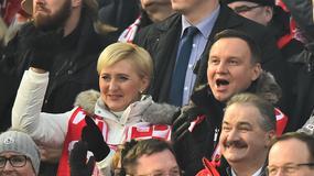 Para prezydencka kibicowała skoczkom w Zakopanem