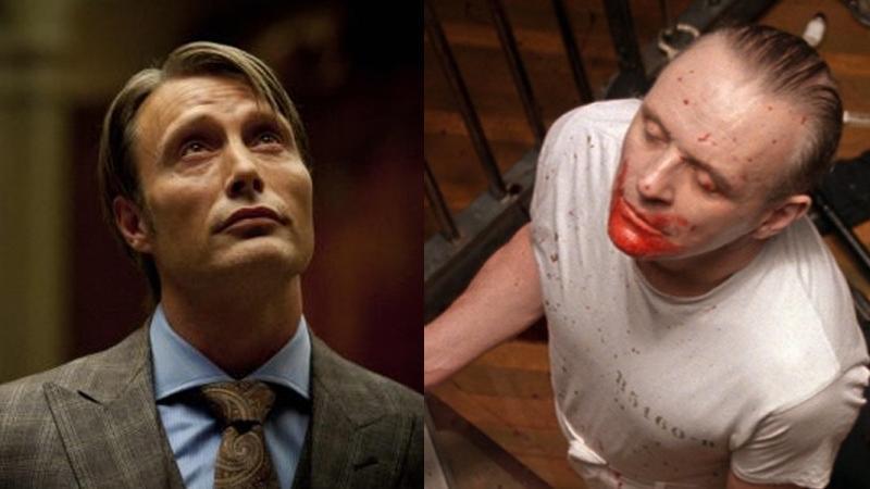 Mads Mikkelsen i Anthony Hopkins w roli Hannibala