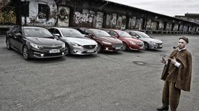 Limuzyny pod lupą - nowa Kia Optima kontra Ford Mondeo, Mazda 6, Opel Insignia i Peugeot 508