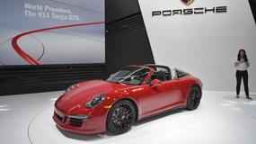 Porsche 911 Targa 4 GTS oraz Cayenne Turbo S: debiuty w Detroit