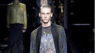 Dominik Sadoch podbił wybiegi podczas Tygodnia Mody Męskiej w Paryżu