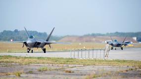 Najlepsze myśliwce świata, F-22 Raptor wylądowały w Polsce