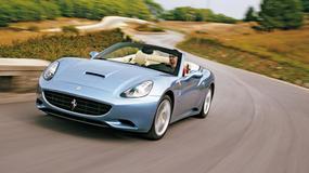 Ferrari California - Wspaniały błękit