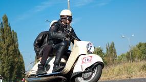 Polskie motocykle i samochody na torze FSO