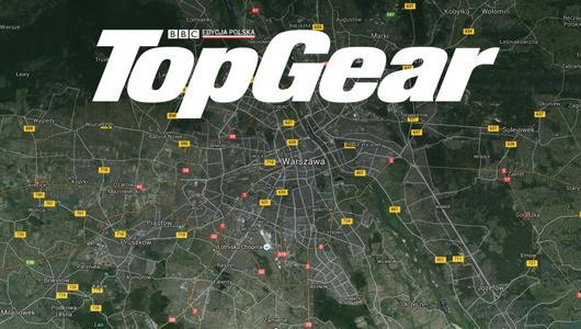 """Wyścig """"TopGear: największe wyzwania"""" w Warszawie"""