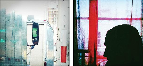 Zdjęcia ze smartfona w galerii w Nowym Jorku