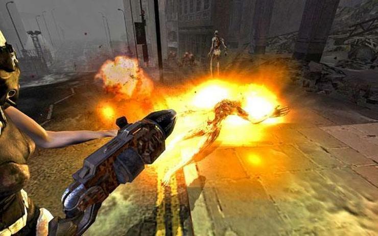Скриншоты игры Hellgate: London.