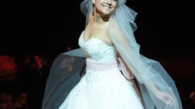 Joanna Jabłczyńska w sukni ślubnej