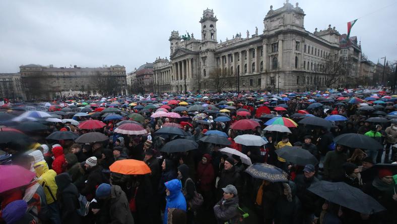 A szervezők szerint 150 ezren voltak / Fotó: Isza Ferenc