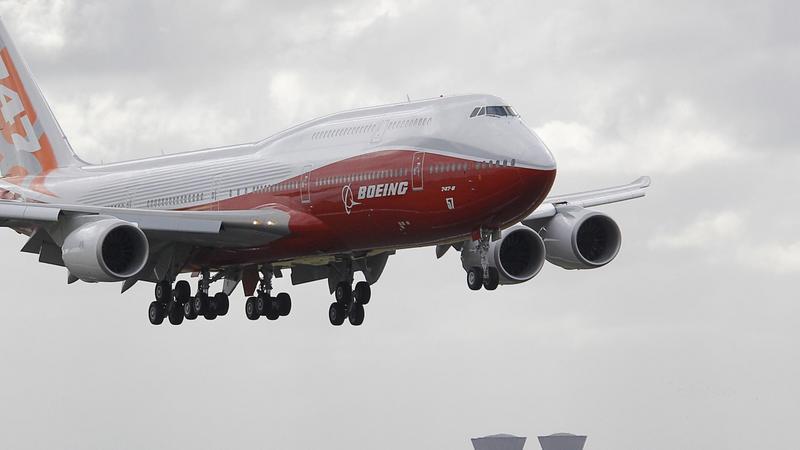 Boeing 747-8, fot. AFP