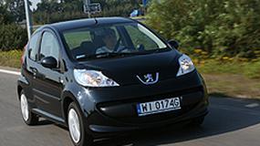 Peugeot 107 - Zadziorny mieszczuch