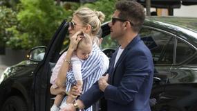 Diego Simeone zabrał partnerkę i córkę do restauracji