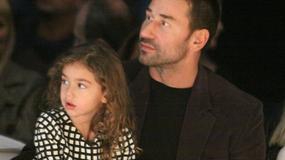 Marko Jarić zabrał córeczkę na pokaz mody
