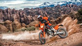 KTM prezentuje nową generację motocykli enduro