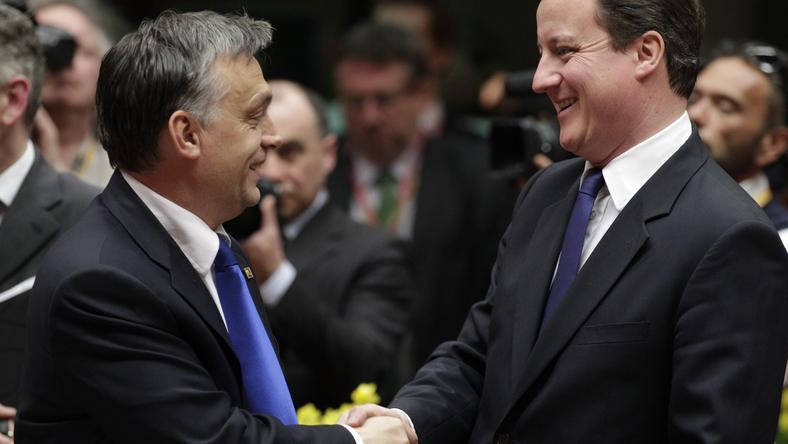 Holnap tárgyal Cameron Orbán Viktorral, később sajtótájékoztatót tartanak / Fotó: MTI