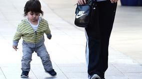 Milan, synek Shakiry i Pique, uczy się chodzić