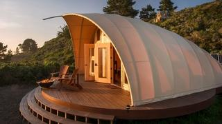 Namiot jak hotel pięciogwiazdkowy