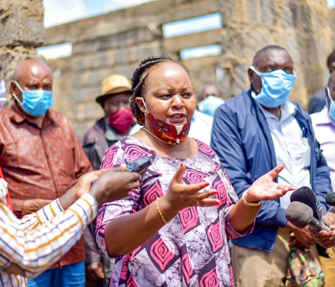 Woman attacks Anne Waiguru's motorcade forcing governor to disembark